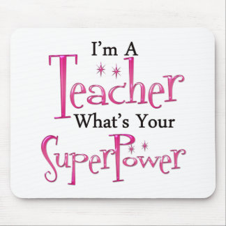 Super Teacher Mouse Pad