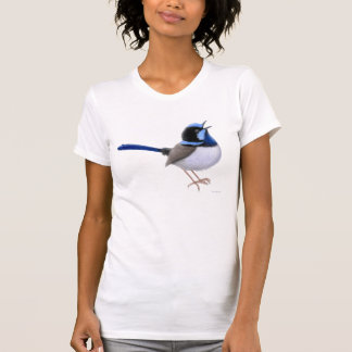 Superb Fairy Wren Scoop Neck Shirt
