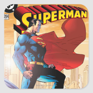 Superman #204 June 04 Square Sticker