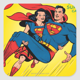 Superman #57 square sticker