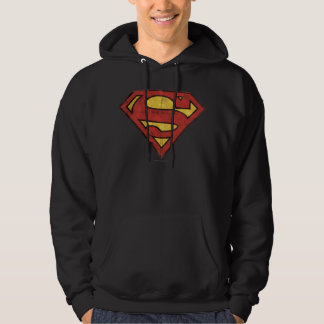 Superman S-Shield | Grunge Logo Hoodies