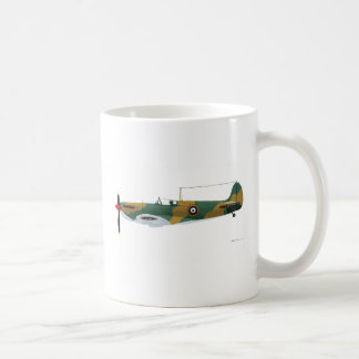 Supermarine Spitfire Basic White Mug