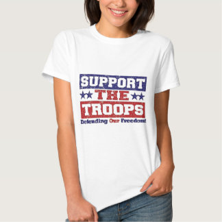 Support our Troops Tee Shirt