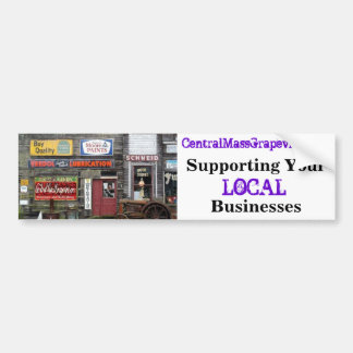 Supporting Your Local Businesses Bumper Sticker