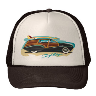 Surf Wagon Woody Cap