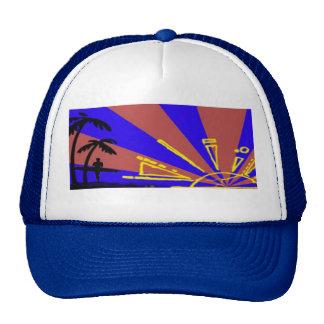 Surfer at Sundown Cap