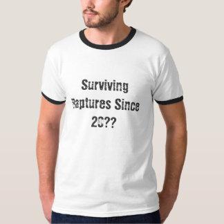 Surviving Raptures Since 20?? (Customize Year) Tee Shirt