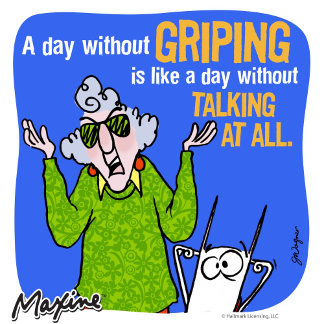 Maxine A Day Without Griping