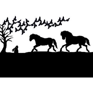 Horses & Hare