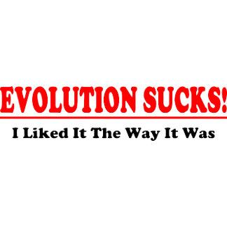 Evolution Sucks!