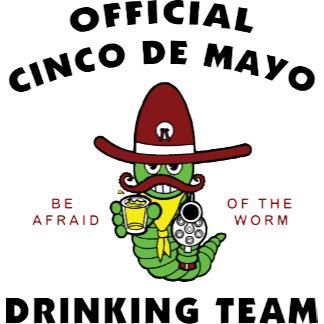 Cinco de Mayo Drinking Team T-Shirt
