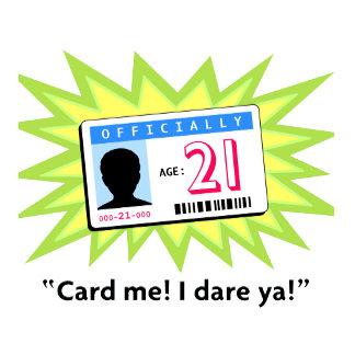 21 Birthday ID Card