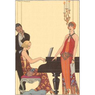 Art Deco Pianist and Singer