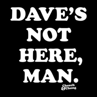 Daves Not Here Man
