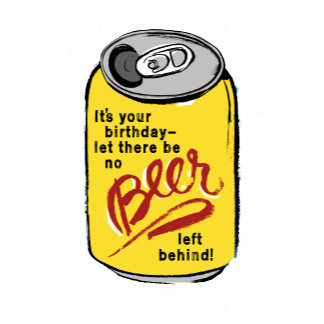 Beer Can Birthday