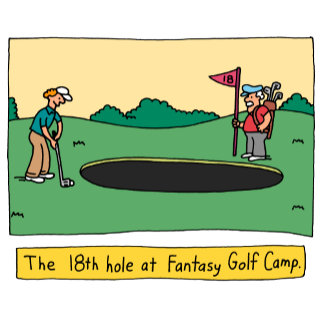 Father's Dad Golf Humor