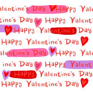 Happy Valentine's Day Hearts