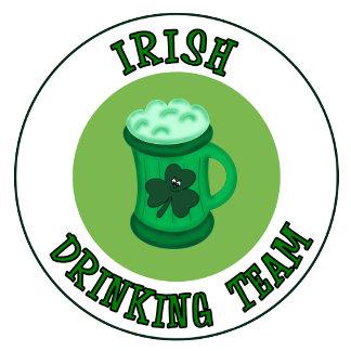 Funny Irish Drinking Team