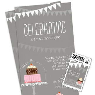 Bridal Shower Invitations and Postage