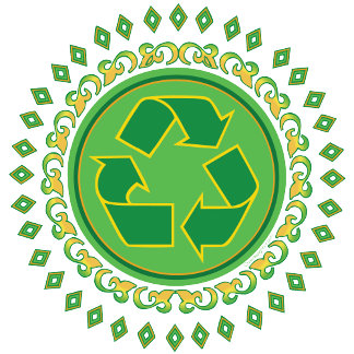 Recycle Sign - Medallion