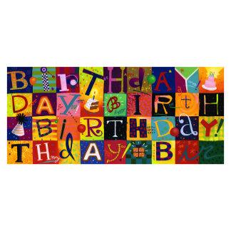 Birthday Fun Squares