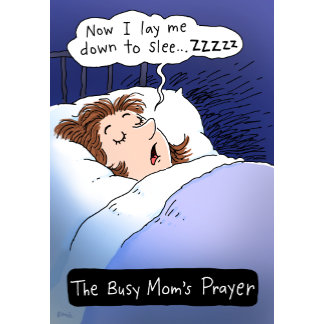 Busy Mom's Prayer