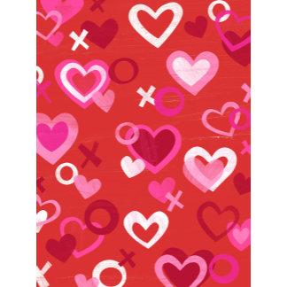 Hugs and Kisess Hearts