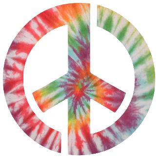 Tie-Dye Stencil Peace