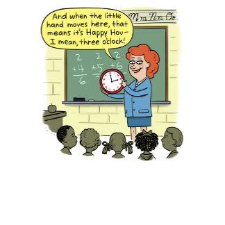 Teacher Telling Time