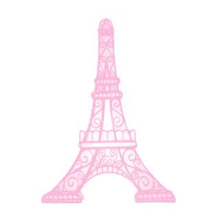 Pink Eiffel Tower