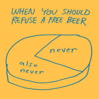 When to Refuse Free Beer