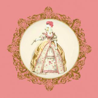Marie Antoinette Poodle