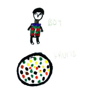 Boy & Fruit