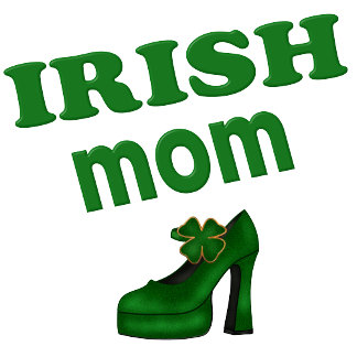 Irish Mom with Green High Heel