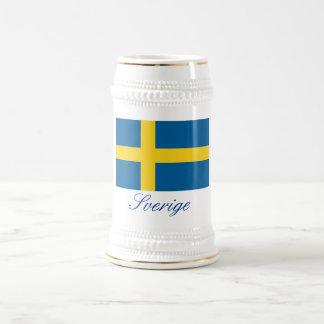 SVERIGE (Sweden) Beer Steins