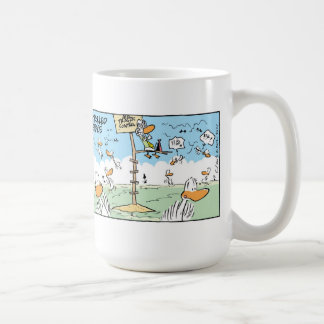 Swamp Air Space Control Differences Basic White Mug