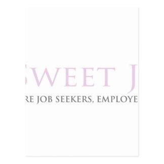Sweet Job Spot Postcard