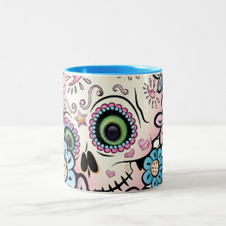 Sweet Sugar Skull Two-Tone Mug
