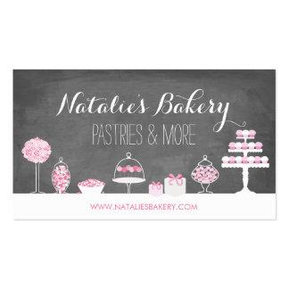 Sweet Treats Chalkboard Bakery Pack Of Standard Business Cards