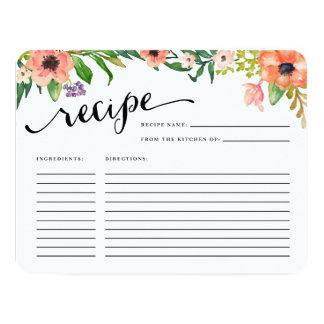 Sweetest Day   Recipe Card 11 Cm X 14 Cm Invitation Card