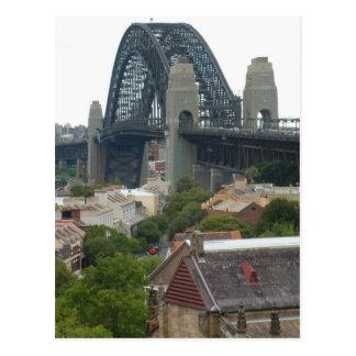 Sydney, Australia. Harbour Bridge. Postcard