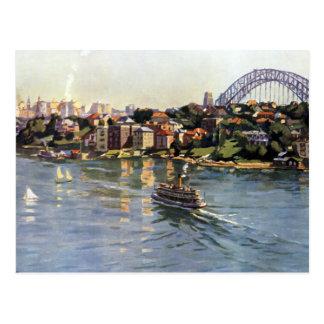 Sydney Harbour Australia Postcard