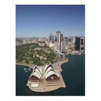 Sydney Opera House, Royal Botanic Gardens, CBD Postcard