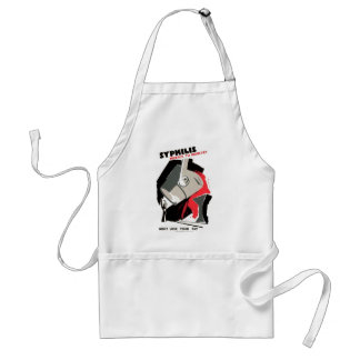 Syphilis ~ Menace to Industry Standard Apron
