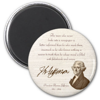 T. Jefferson: Truth & Newspapers - Magnet #2