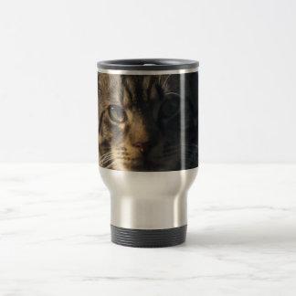 Tabby Cat - Stainless Steel Travel/Commuter Mug