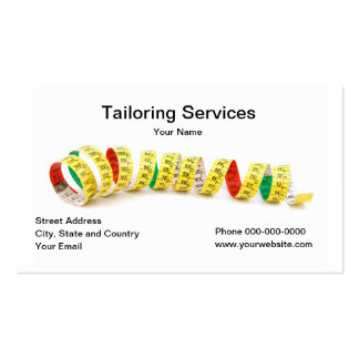 Tailoring Services Business Card