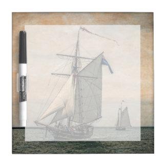 Tall Ships Festival, Digitally Altered Dry Erase Whiteboards