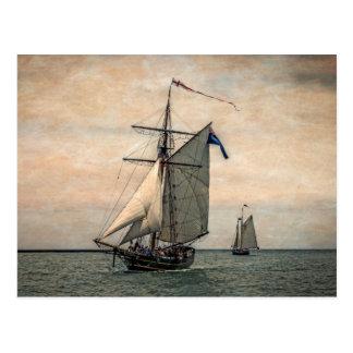Tall Ships Festival, Digitally Altered Postcard