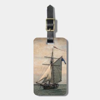 Tall Ships Festival, Digitally Altered Travel Bag Tags